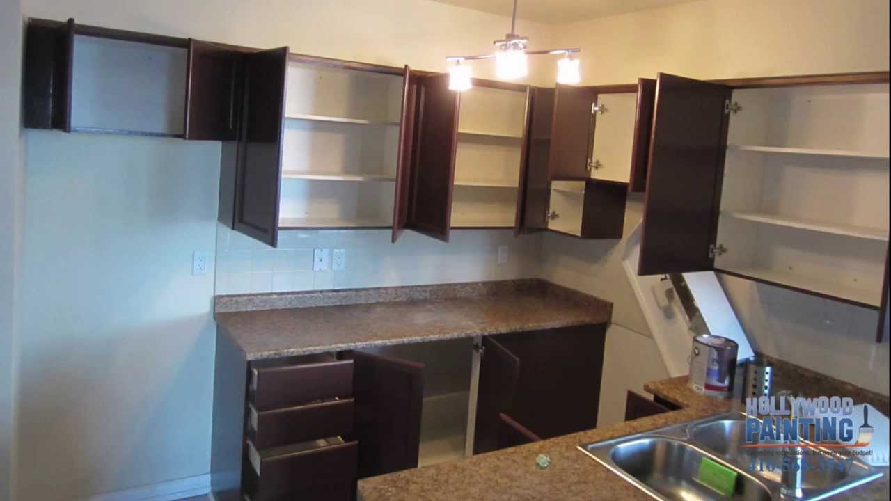 Innovative Set Up The Dark Painted Kitchen Cabinets Design