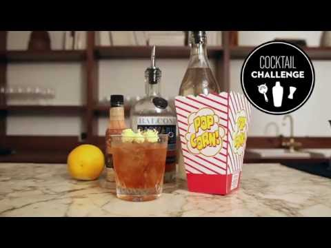 How to make a buttered-popcorn cocktail
