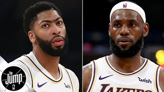 The LeBron-AD pick-and-roll is going to be too dominant – Amin Elhassan | The Jump