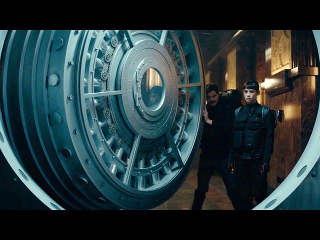 【谷阿莫】鬼斧神工的金庫,採用天秤設計,當有外力進入、金庫重量被改變時,天秤就鎖門放水消滅小偷,試問他們該如何破解2020《地窖奇劫》 - 谷阿莫