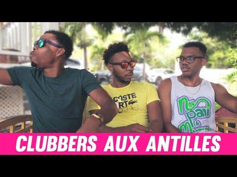Les clubbers aux Antilles