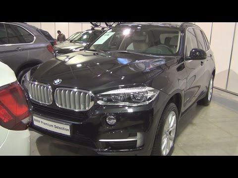 BMW X5 xDrive 40d (2015) Exterior and Interior in 3D