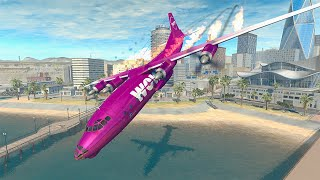Airplane Crashes #1 - BeamNG DRIVE | SmashChan