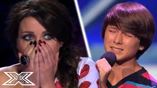 Little Guys With BIG Voices STUN Judges | X Factor Global