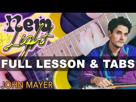 John Mayer - New Light Guitar Lesson With Darryl Syms | Easy Beginner Tutorial