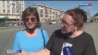Омские полицейские нашли водителя такси, скрывшегося с места аварии в Нефтяниках