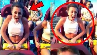 5 BEST & FUNNIEST ROLLER COASTER MOMENTS #2 - Hot Trend  - Ep 131