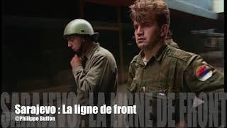 Bosnie-Herzégovine lignes de front serbe