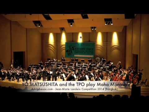 WINNER JMLISC 2014: YO MATSUSHITA and the TPO ORCHESTRA play Maha Mantras by Narong Prangcharoen