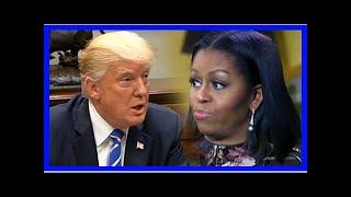 Michelle Obama blasts 'misogynist' Trump in new book