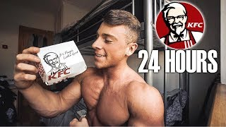 ONLY EATING KFC FOR 24 HOURS... *CRAZY RESULT*