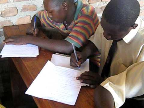 URF Hope Academy Students Taking Exam