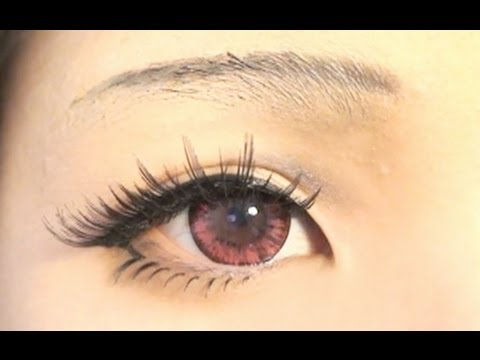Tutorial : Anime Eye Makeup 26