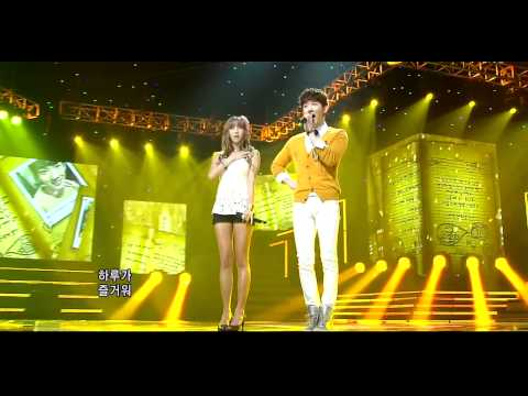 {HD} G.Na and Jo Kwon-What I Wanna Do If I Had A Lover Special Stage
