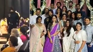Allu Arjun at Niharika engagement- Unseen video..