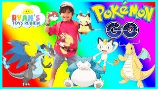 POKEMON GO IN REAL LIFE Catching Rare Pokemon Pikachu