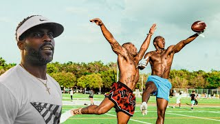 TRASH TALKING YOUTUBER GETS EXPOSED DURING 1ON1'S! (MIKE VICK WAS OUR QB)
