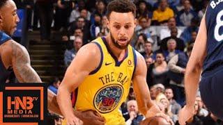 Golden State Warriors vs Minnesota Timberwolves Full Game Highlights / Jan 25 / 2017-18 NBA Season