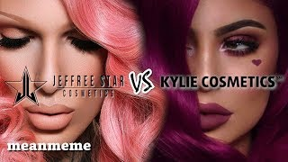 Jeffree Star Cosmetics vs. Kylie Cosmetics    Who's ACTUALLY self-made?