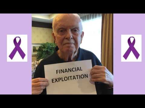 Elder Abuse Awareness CH 2016 06 14