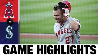 Mike Trout homers in Angels' 5-3 win | Angels-Mariners Game Highlights 8/4/20