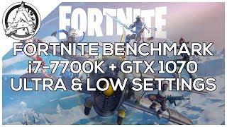 Fortnite GTX 1050 Ti vs  GTX 1060 vs  GTX 1070 vs  GTX 1080