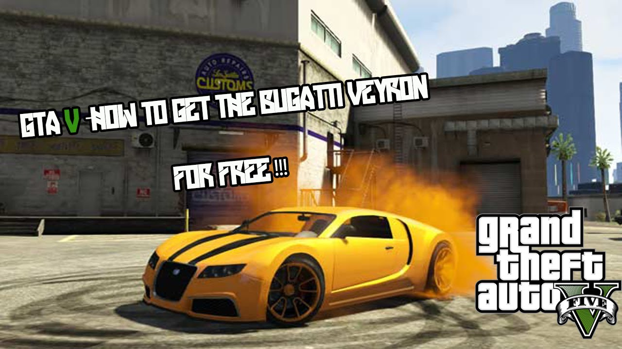 GTA V -How To Get The Adder (Bugatti Veyron) Secret Car