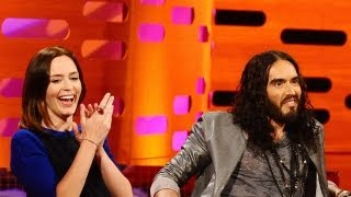 EMILY BLUNT & RUSSELL BRAND: Breaking Up a Dolphin Marriage (The Graham Norton Show)