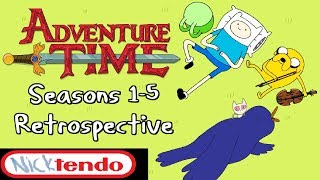 The Birth and Golden Age of Adventure Time - Seasons 1-5 Review & Retrospective