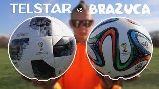 TELSTAR vs BRAZUCA | Which Is Better? | @ZacRiosFootball