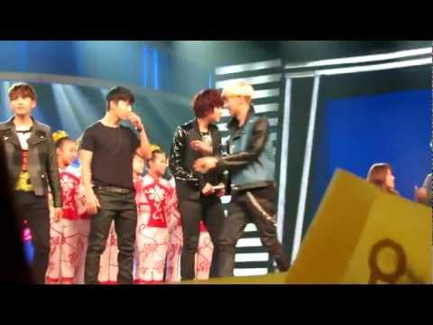 SJ-M The Four Cutie Dancers at HBSTV Challenge 130126 [Fan Cam]