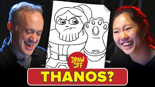 Animator Vs. Cartoonist Draw Each Other As Avengers • Draw-Off