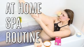 At Home Spa Routine| Pamper Yourself