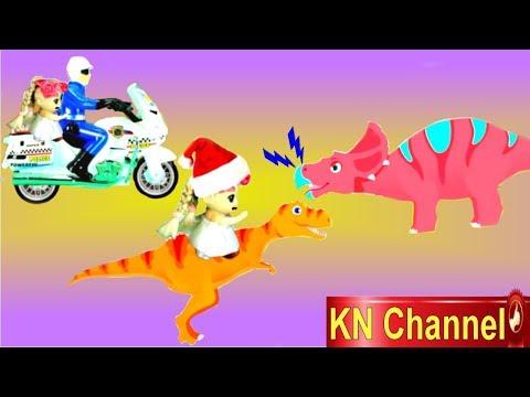 BÚP BÊ KN Channel GIÚP KHỦNG LONG CON SIÊU QUẬY CẢI LỜI MẸ ĐI LẠC TRONG RỪNG TẬP 2