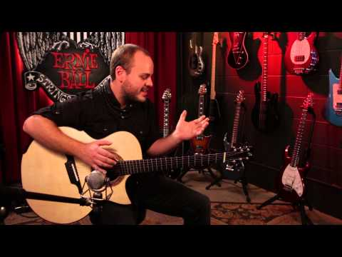 Andy McKee and Aluminum Bronze Guitar Strings [Official]