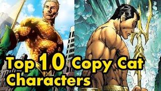 Top 10 Copy Cat Characters