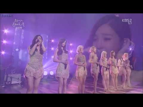 Into The New World Ballad Live Sketchbook - 소녀시대 Girls' Generation