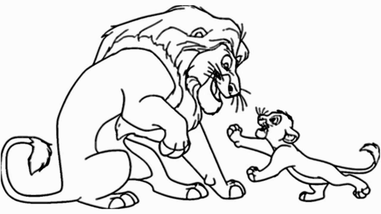 How to Draw the lion King - Video - YouTube