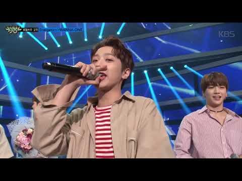뮤직뱅크 – 8월 4주 1위 Wanna One - 에너제틱 (Energetic) 세리머니 Cut