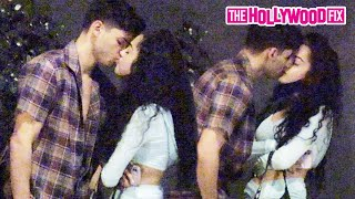 Malu Trevejo Makes Out With Ryan Garcia While Leaving Dinner Together At N10 Restaurant 10.24.20