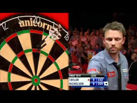 UK Open 2011 - Taylor vs Nicholson Final Leg