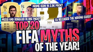 TOP 20 FIFA MYTHS OF THE YEAR!