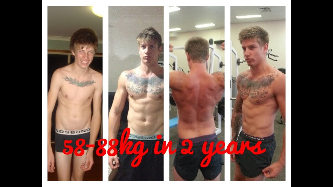 Skinny To Muscular Body Transformation 30kg Gain Youtube