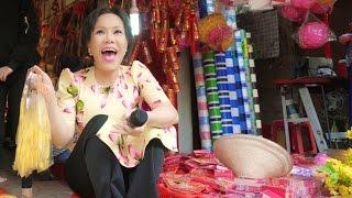 Việt Hương - Đi Chợ Tết Đinh Dậu 2017 cùng Việt Hương Phần 2