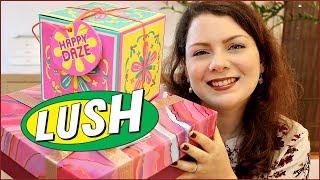 Unboxing - J'ouvre mes cadeaux LUSH, Happy Daze et Relax More   LUSH unboxing