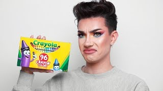 CRAYOLA CRAYONS MAKEUP REVIEW