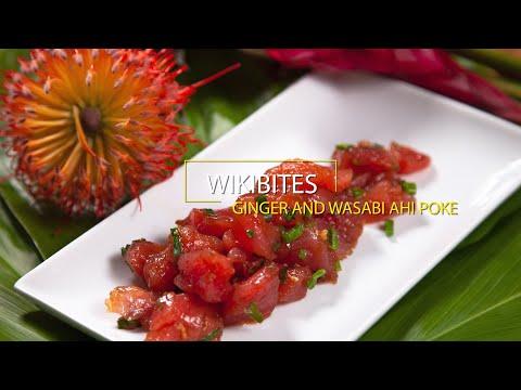 Wikibites: Ginger and Wasabi Ahi Poke