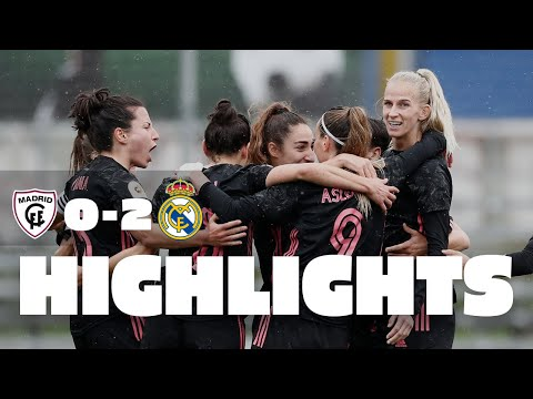 HIGHLIGHTS | Madrid CFF 0-2 Real Madrid | Primera Iberdrola