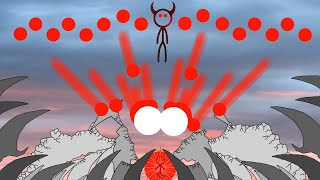 The Cliff 5 - The Ultimate Showdown (FlipaClip animation, stick fight, blood warning!)