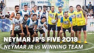 Neymar Jr's Five 2018: Neymar Jr vs Mexico | Five-A-Side Football Tournament